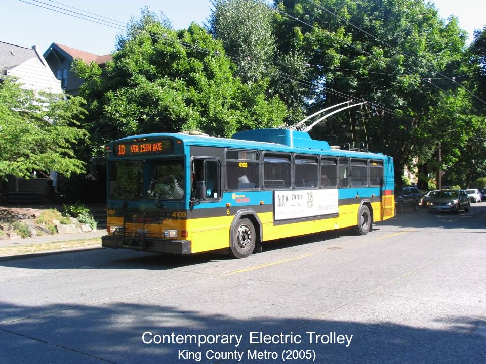 41 Contemporary Electric Trolley King County Metro (2005)