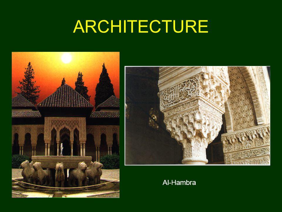 ARCHITECTURE Al-Hambra