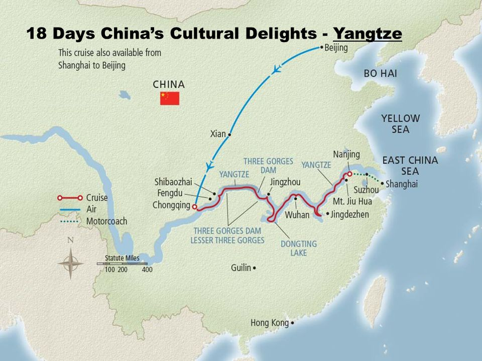 18 Days China's Cultural Delights - Yangtze