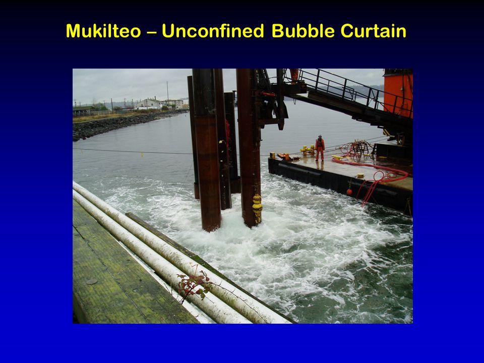Mukilteo – Unconfined Bubble Curtain