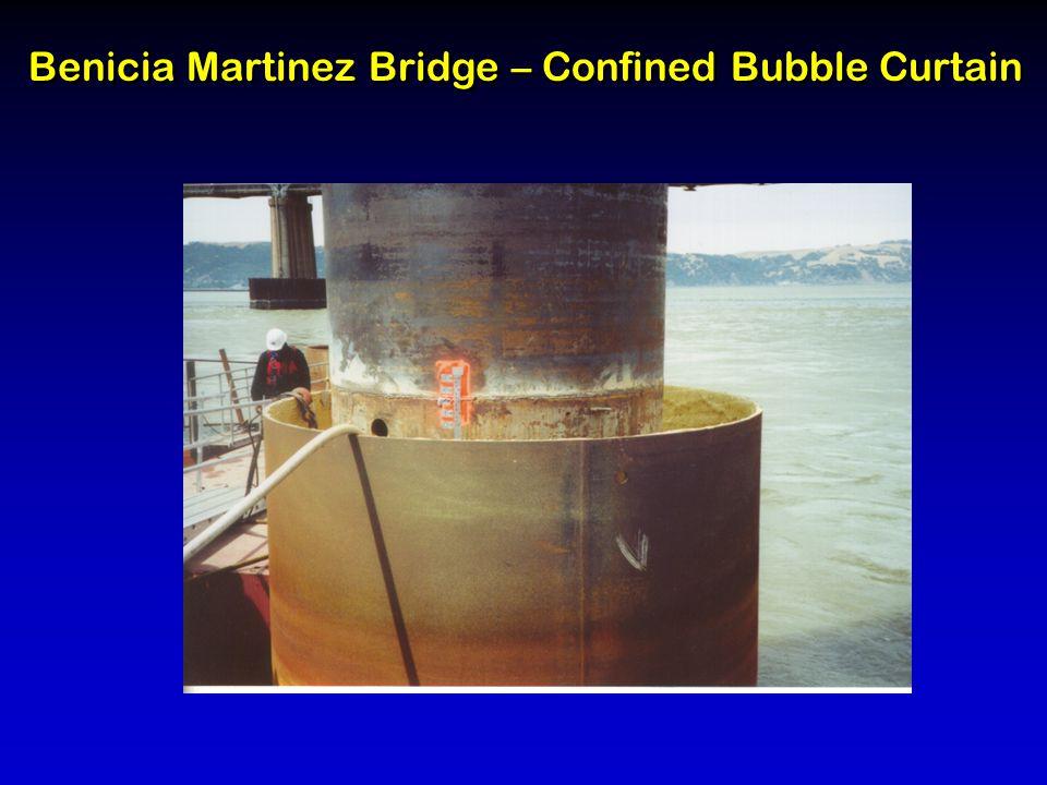 Benicia Martinez Bridge – Confined Bubble Curtain