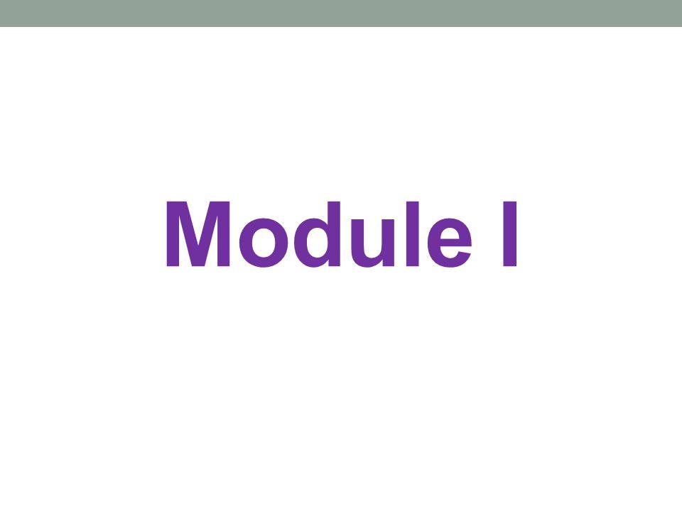 Module I