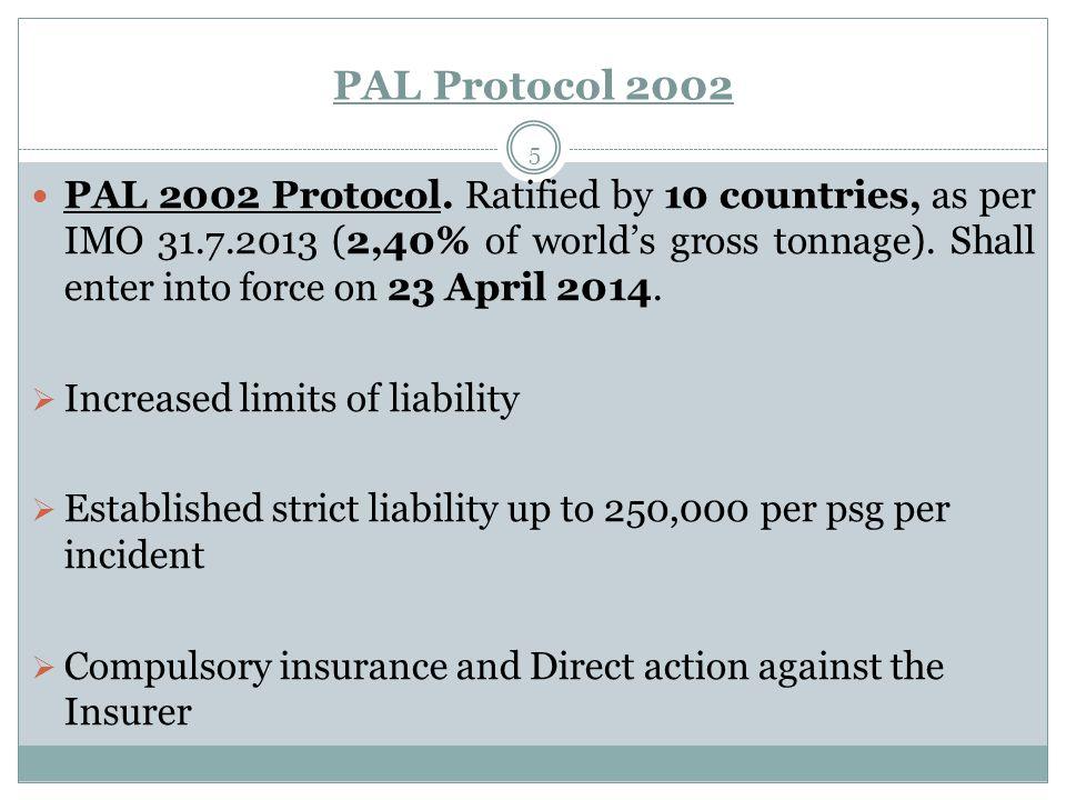PAL Protocol 2002 5 PAL 2002 Protocol.