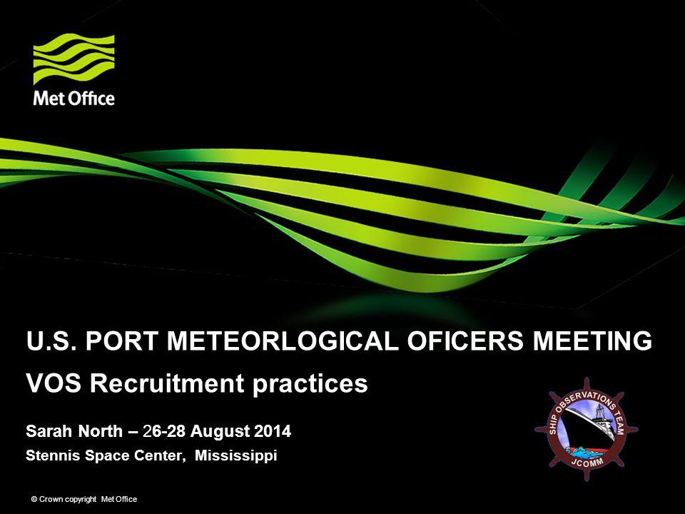 Stennis Space Center, Mississippi © Crown copyright Met Office Sarah North – 26-28 August 2014 U.S.