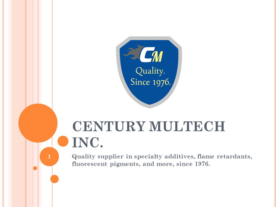 CENTURY MULTECH INC.