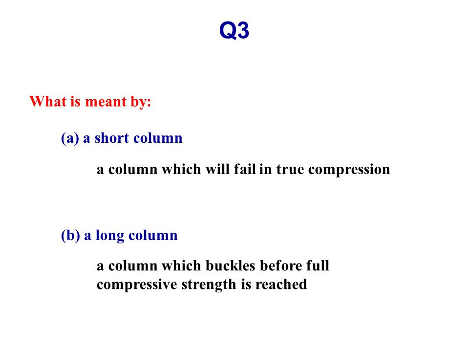 Q10(b, c) (b) How wide would the footing have to be to bring the reaction within the middle third.