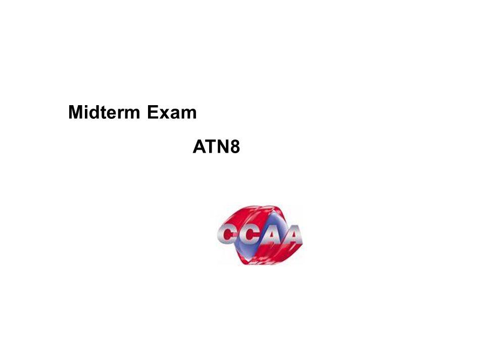 Midterm Exam ATN8