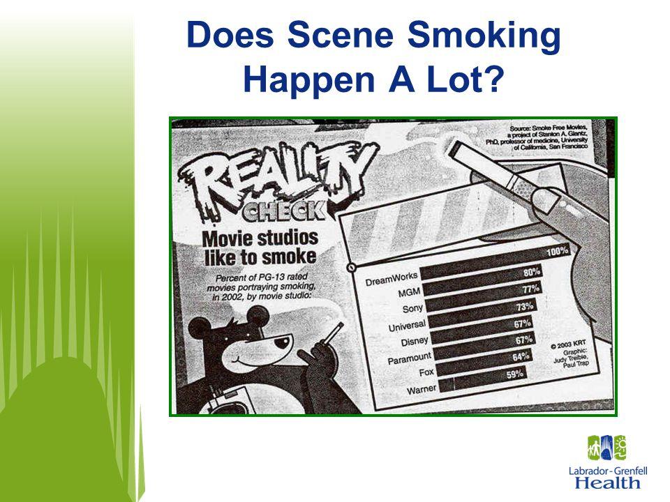 Does Scene Smoking Happen A Lot?