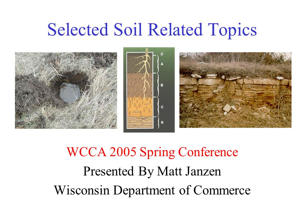 Discussion Agenda Minimum 6 Inch In Situ Soil Code Requirement Interpretative Determinations Siting Systems On A + 4 Soil Conditions