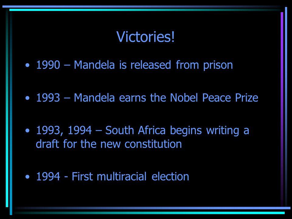 Victories.