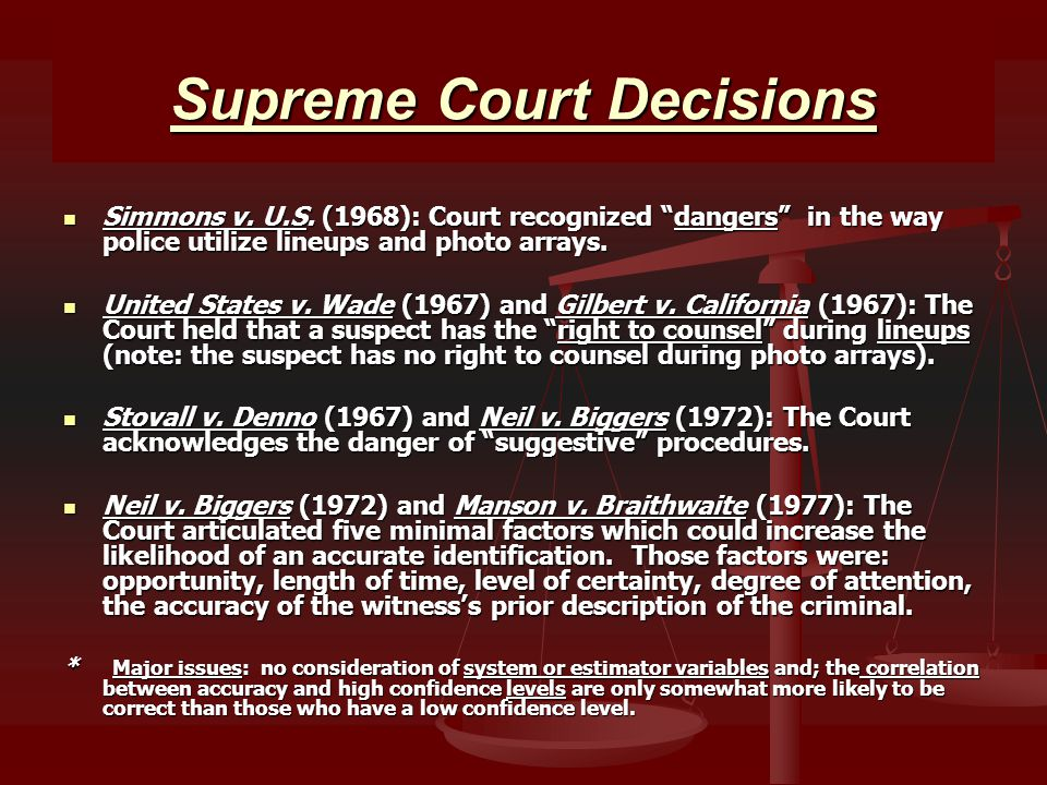 Supreme Court Decisions Simmons v. U.S.