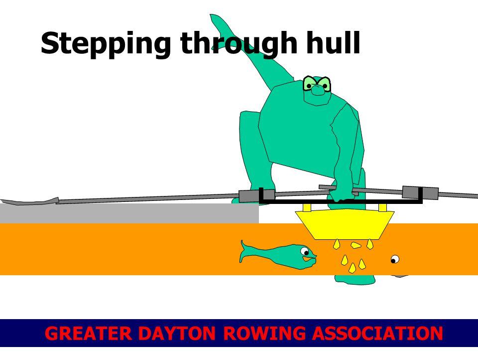 GREATER DAYTON ROWING ASSOCIATION Stepping through hull
