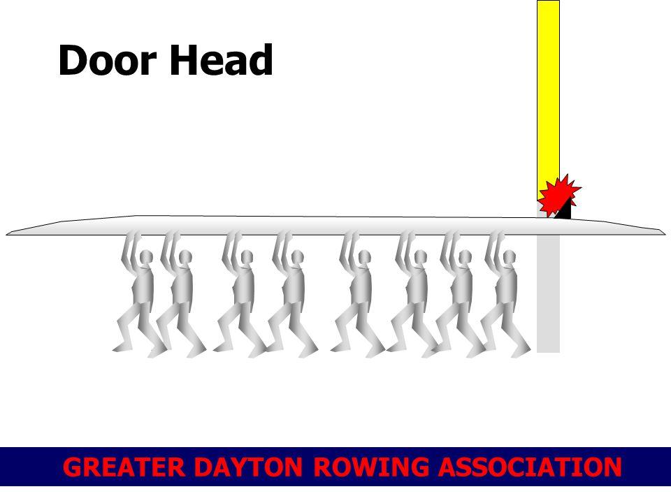 GREATER DAYTON ROWING ASSOCIATION Door Head