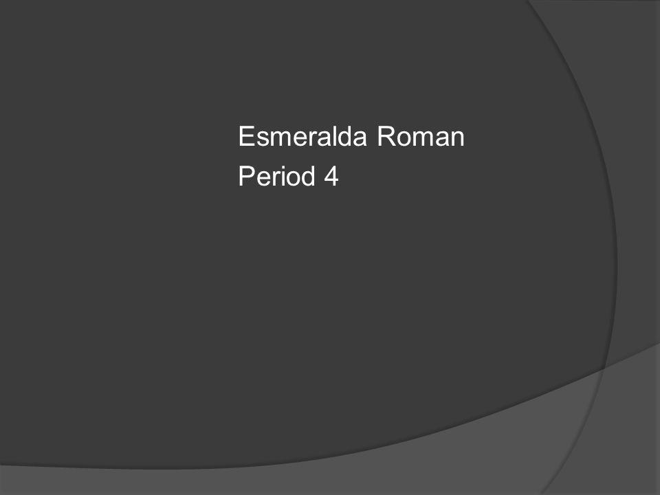 Esmeralda Roman Period 4