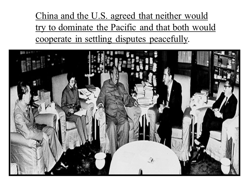 China and the U.S.