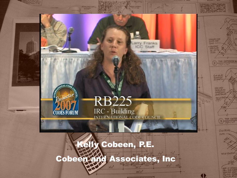 Kelly Cobeen, P.E. Cobeen and Associates, Inc