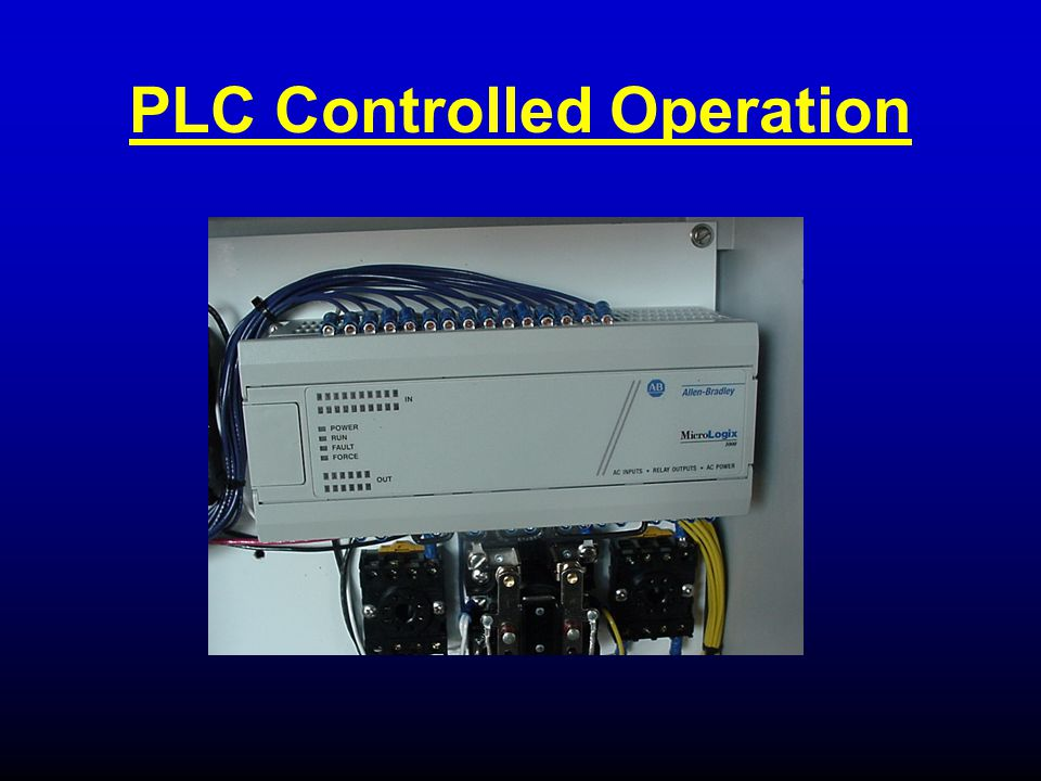 PLC Controlled Operation