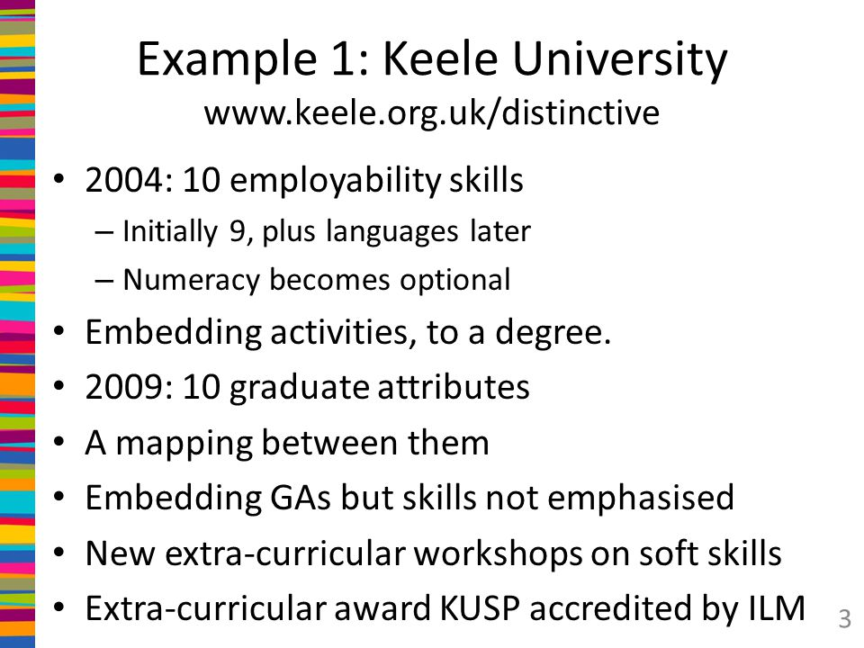 How can the existence of such attributes or skills outcomes be audited, supported and validated.