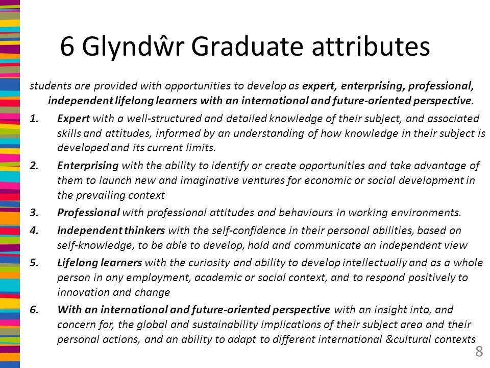 Glyndŵr key skills (clusters) 1.
