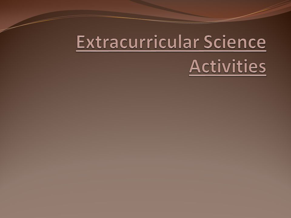 Objectives 1.Promote interest in science, engineering, technology and math 2.