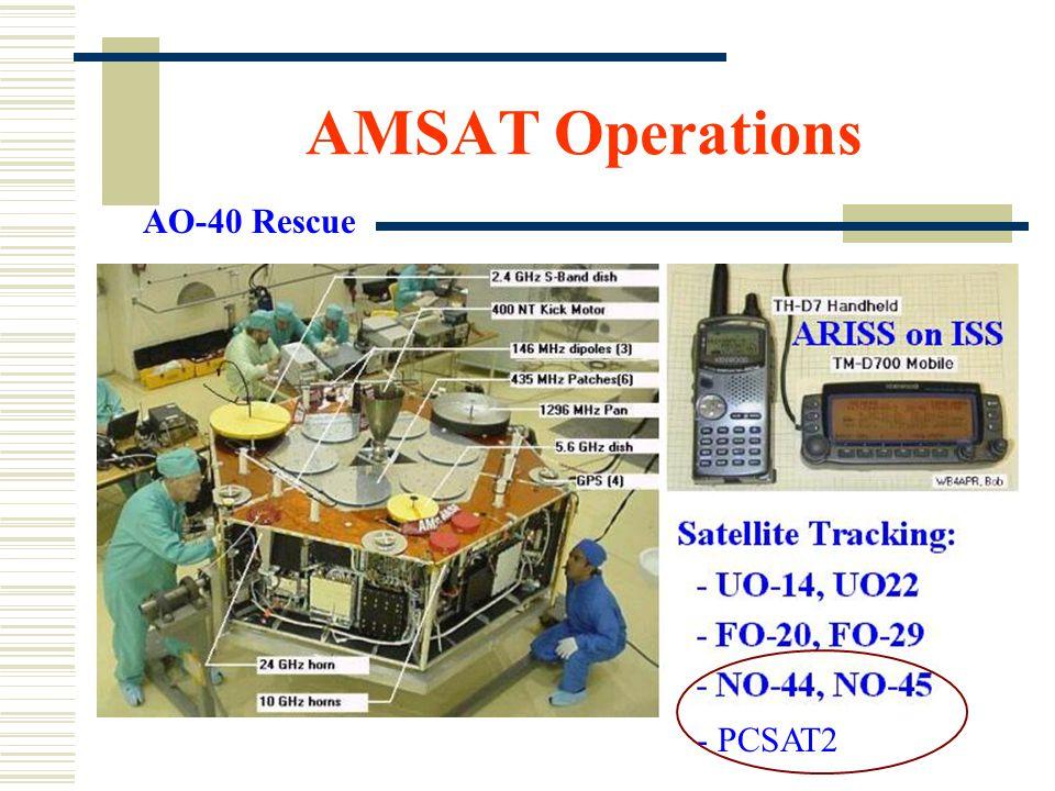 AMSAT Operations AO-40 Rescue - PCSAT2