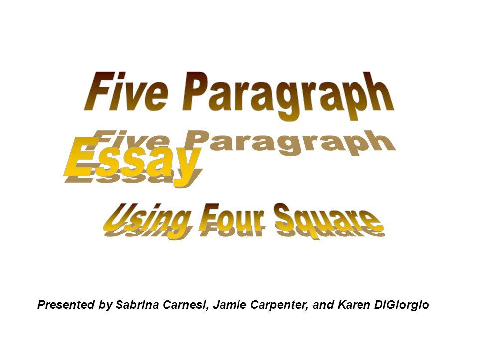 Presented by Sabrina Carnesi, Jamie Carpenter, and Karen DiGiorgio