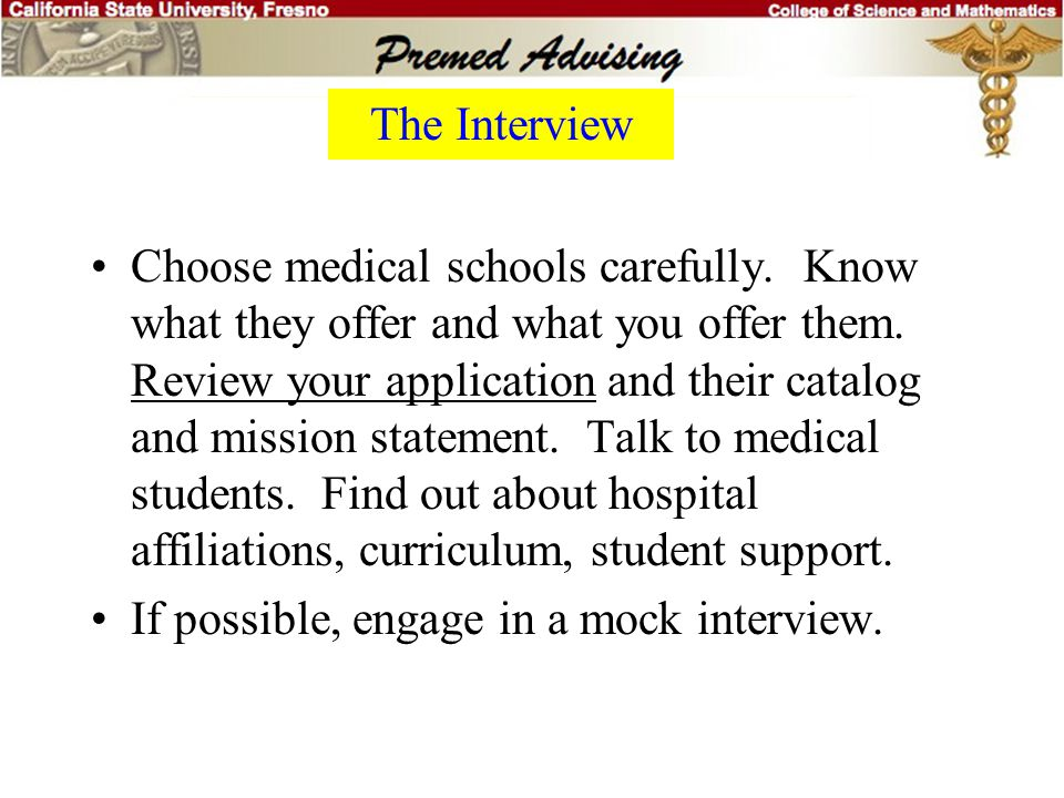 Institution 3 Please explain your reasons for applying to XYZ School of Medicine. We understand that you are probably applying to several medical scho