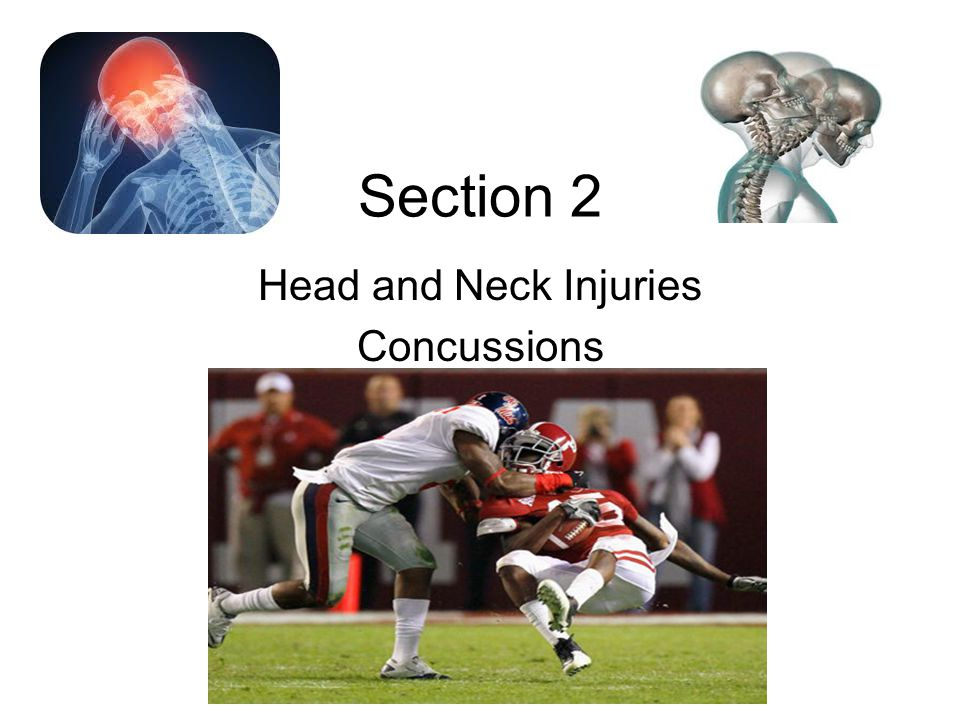 Reducing Head and Neck Injuries Complete preseason physical exams and medical histories for all participants in accordance with established rules.