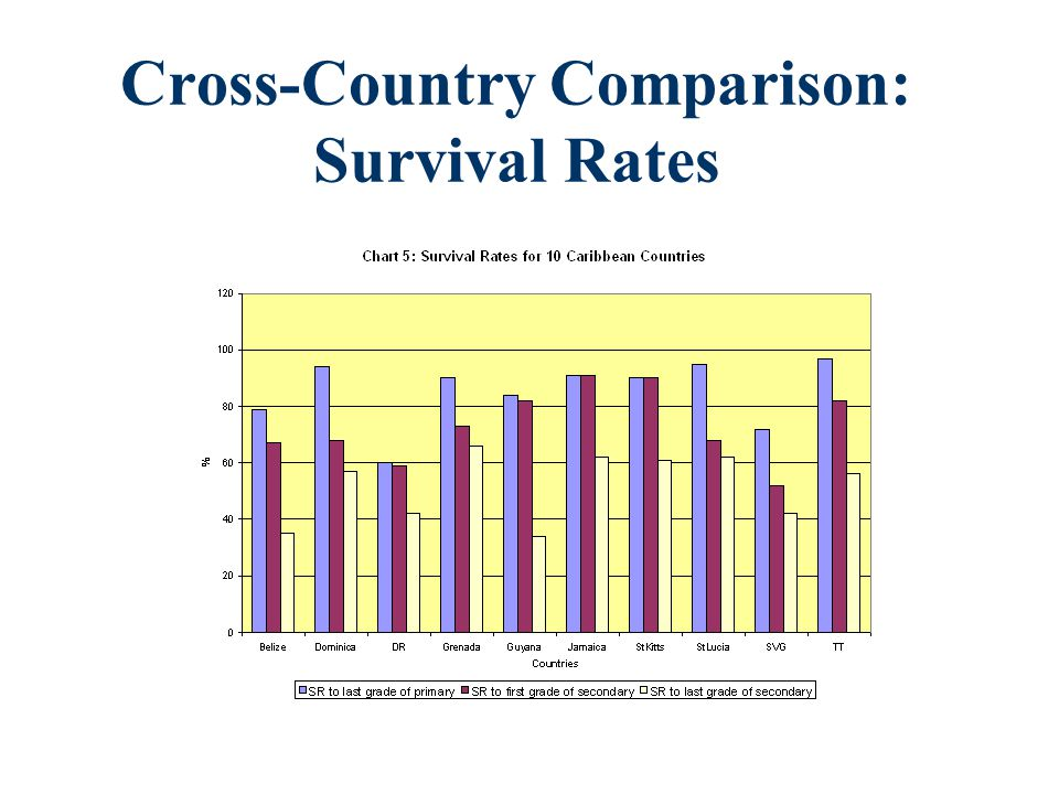 Cross-Country Comparison: Survival Rates