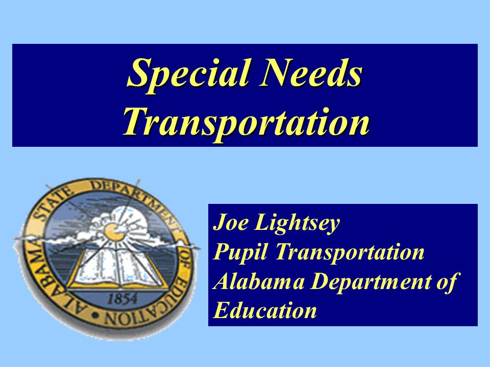 Alabama Transportation Statistics $231,532,213 Million Annually 357,723 Students Daily 8,390 School Buses 58,242,412 Miles Annually 332,168 Daily Miles