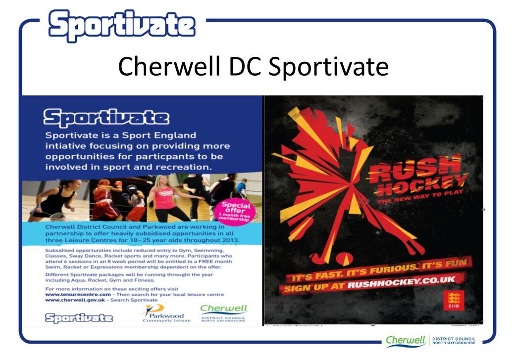 Cherwell DC Sportivate