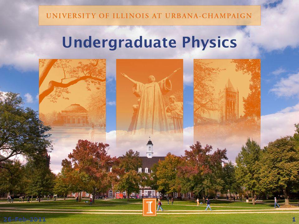 Undergraduate Physics 26-Feb-20111