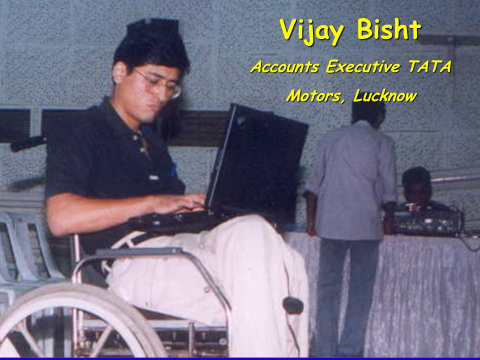 Vijay Bisht Accounts Executive TATA Motors, Lucknow