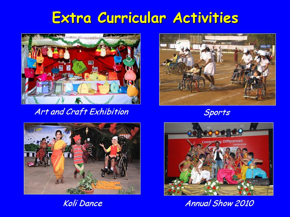 Art and Craft Exhibition Extra Curricular Activities Sports Koli DanceAnnual Show 2010