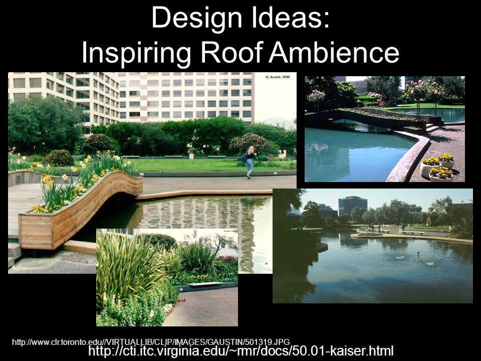 http://www.clr.toronto.edu//VIRTUALLIB/CLIP/IMAGES/GAUSTIN/501319.JPG http://cti.itc.virginia.edu/~rmr/docs/50.01-kaiser.html Design Ideas: Inspiring Roof Ambience