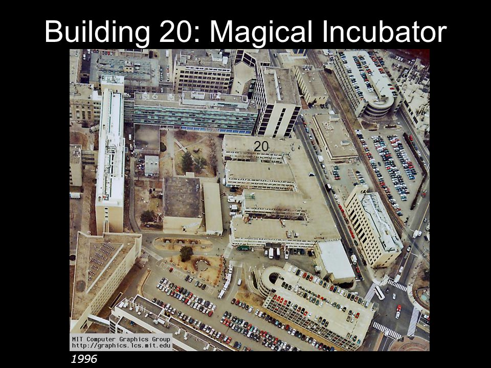 Building 20: Magical Incubator 20 1996