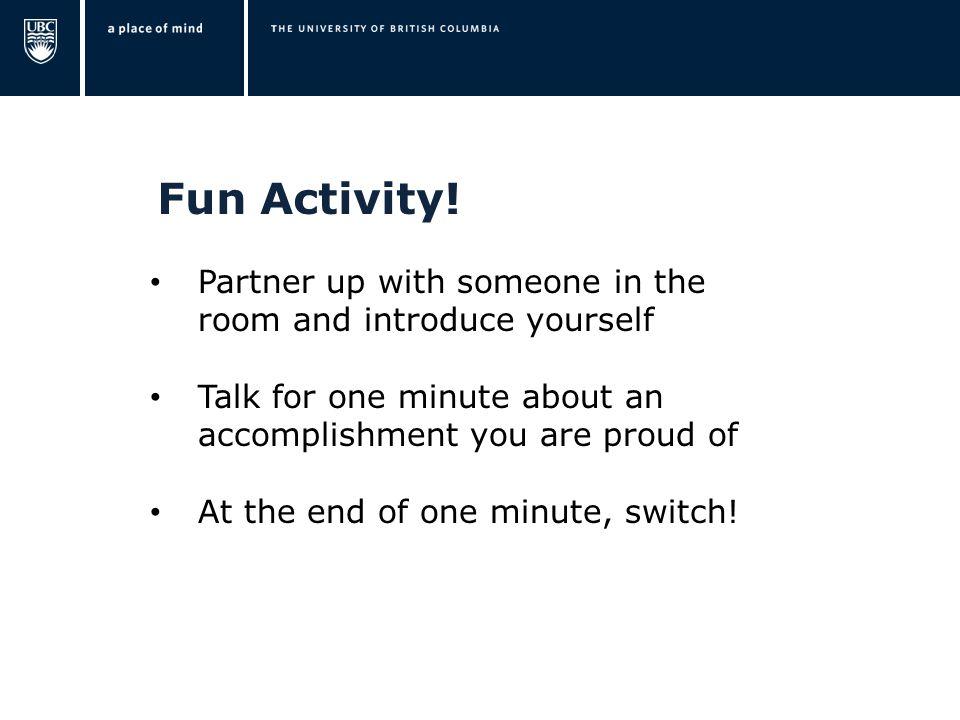 Fun Activity.