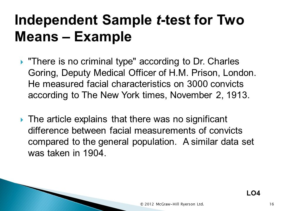  There is no criminal type according to Dr.Charles Goring, Deputy Medical Officer of H.M.