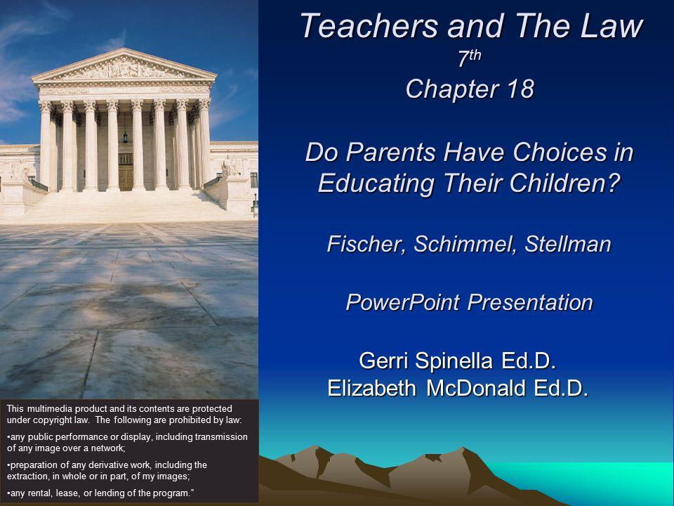 Copyright © Allyn & Bacon 2007 Case Mozert v. Hawkins County Public Schools