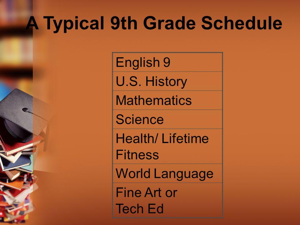 English 9 U.S.