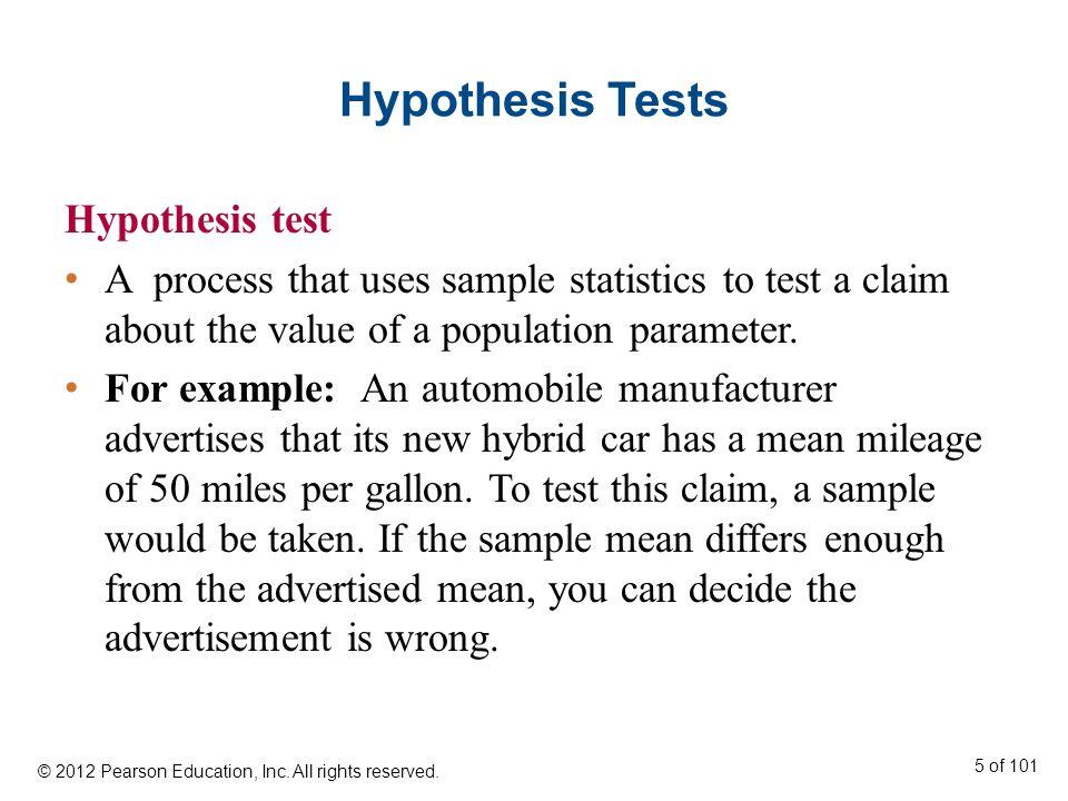 t-Test for a Mean μ (n < 30, σ Unknown) t-Test for a Mean A statistical test for a population mean.