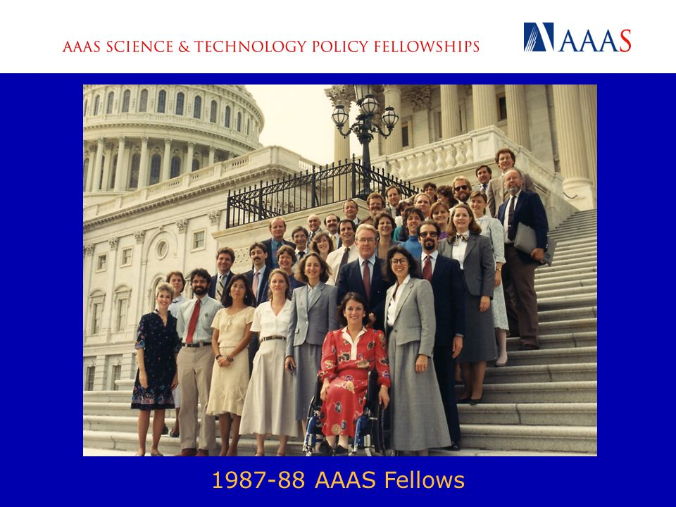 1987-88 AAAS Fellows