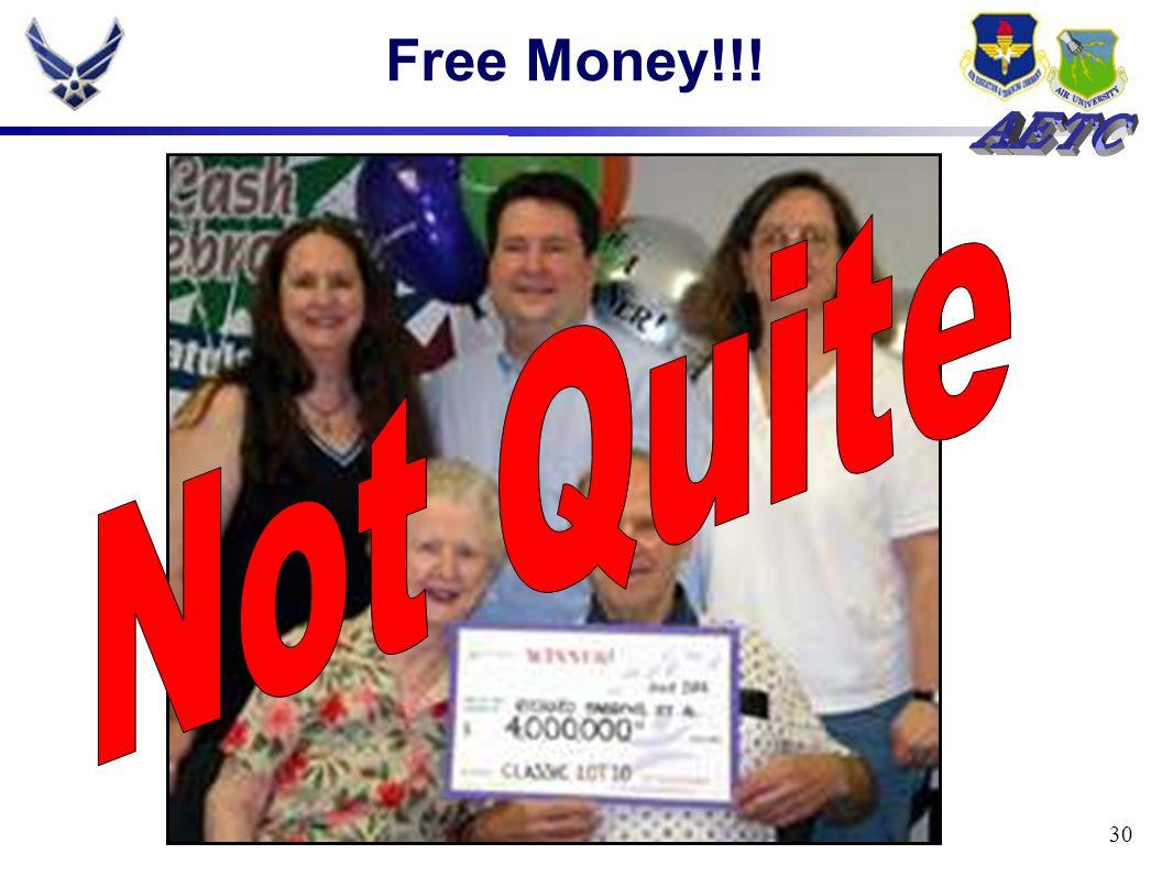 30 Free Money!!!