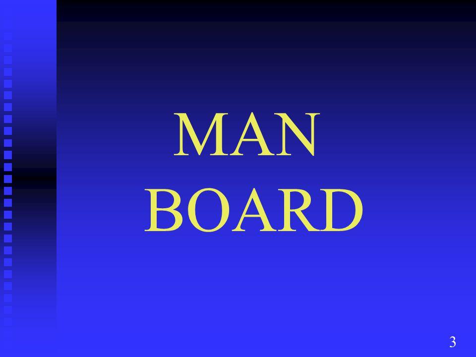 3 MAN BOARD