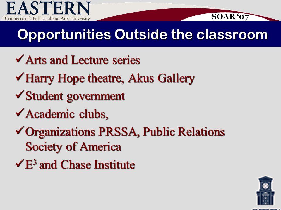 SOAR '07 Integration ECSU s curricular and co-curricular programs emphasize integration ECSU s curricular and co-curricular programs emphasize integration