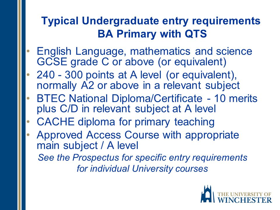 Undergraduate: Terms to use in UCAS Search Engine For, UCAS search: Education 1745 listed, not all give you a teaching qualification Teaching 462 courses QTS 229 courses Primary Education 174 listed 103 listed as Secondary Education 146 under Early Years, not all teaching qualification