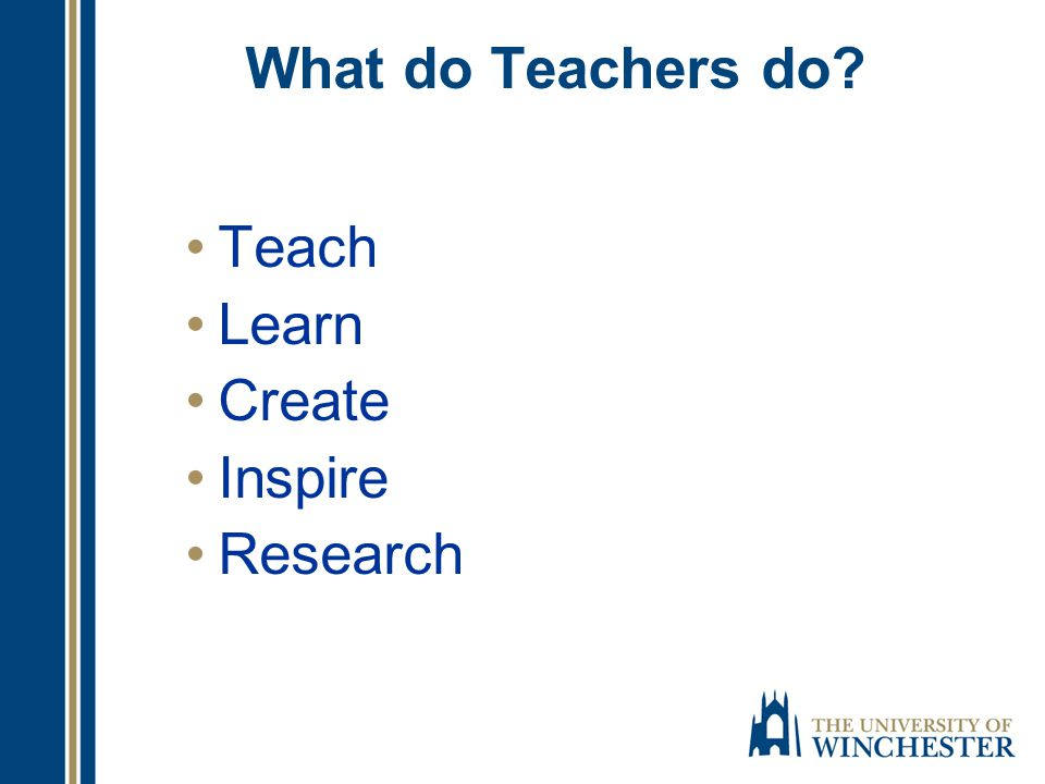 Teachers do more than teach; they touch lives
