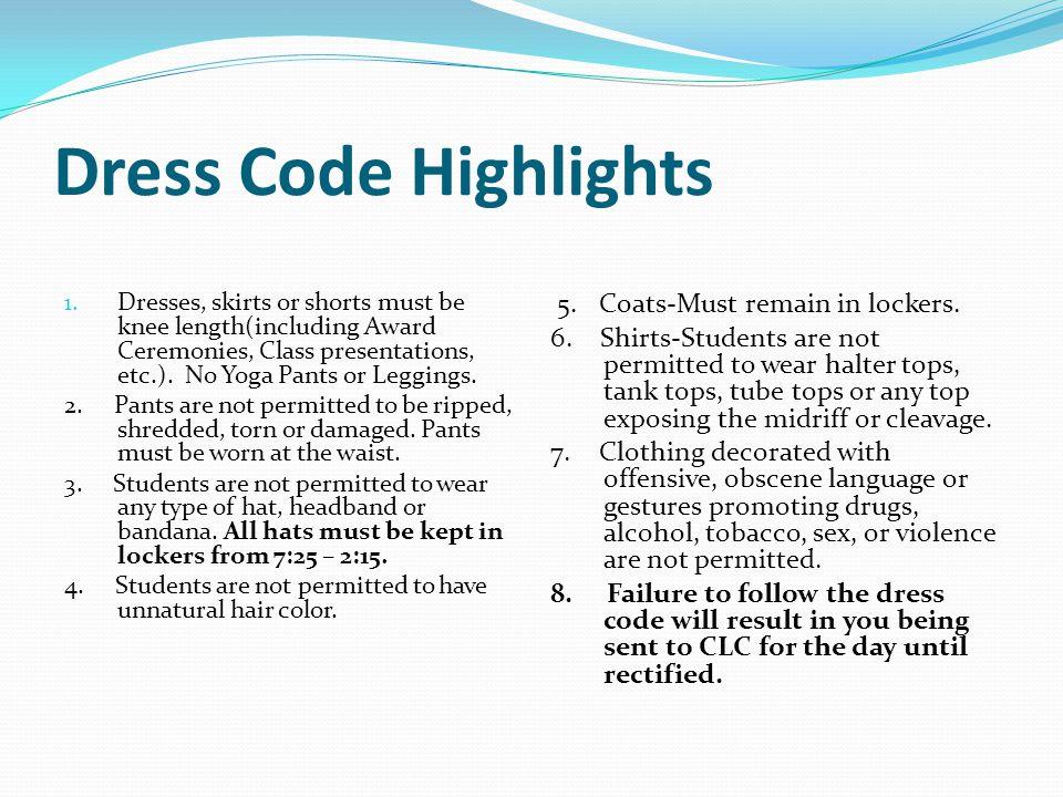 Dress Code Highlights 1.