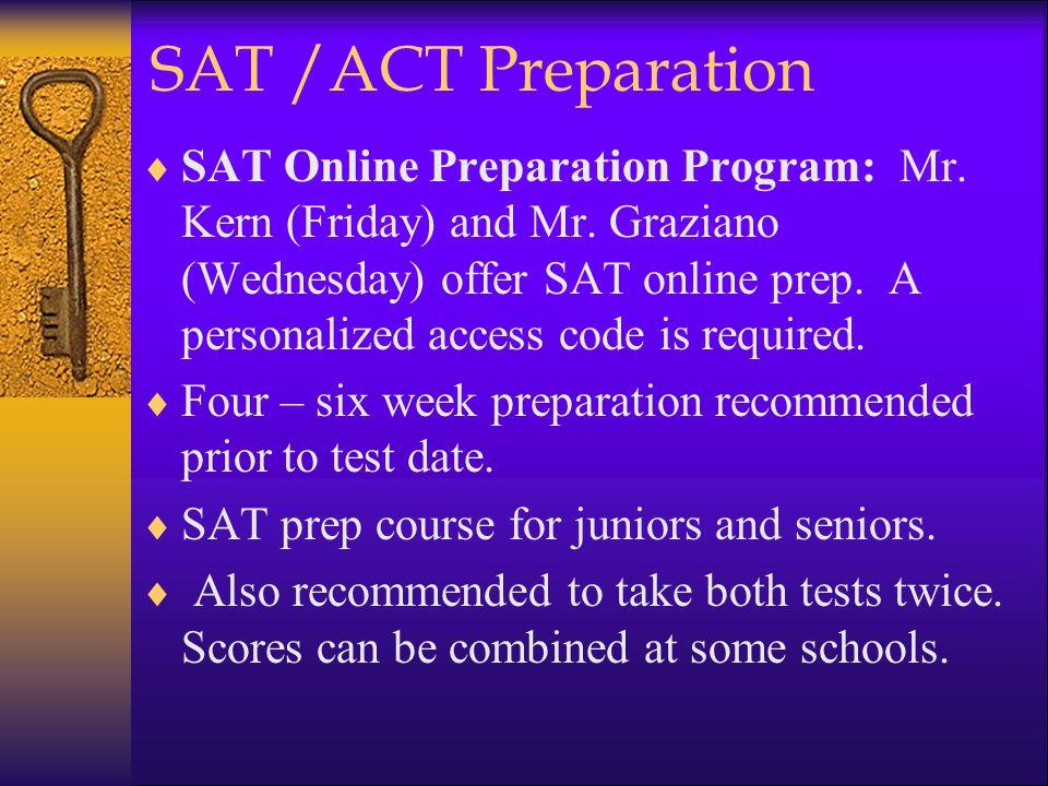 SAT /ACT Preparation  SAT Online Preparation Program: Mr.