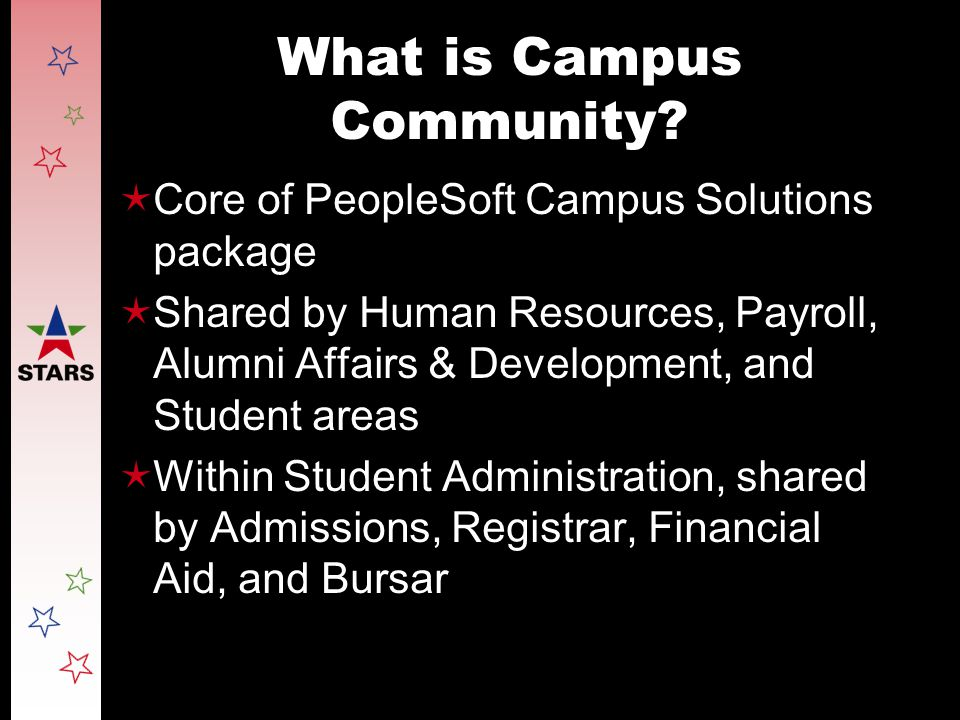 What is Campus Community.